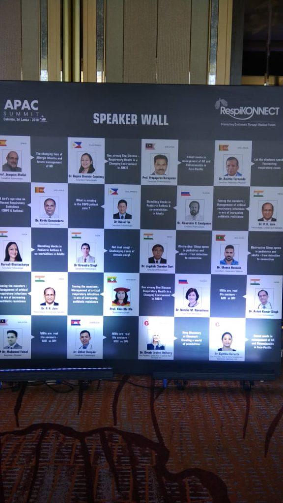 Dr. J C Suri at APAC Summit 2018 Colombo Sri Lanka